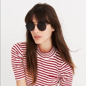 Madewell Asbury Aviator Sunglasses